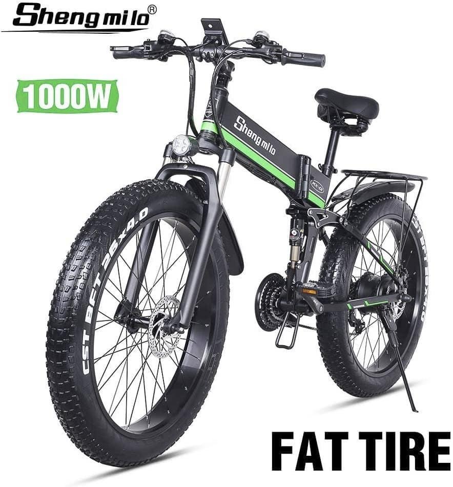 mejor bicicleta electrica plegable