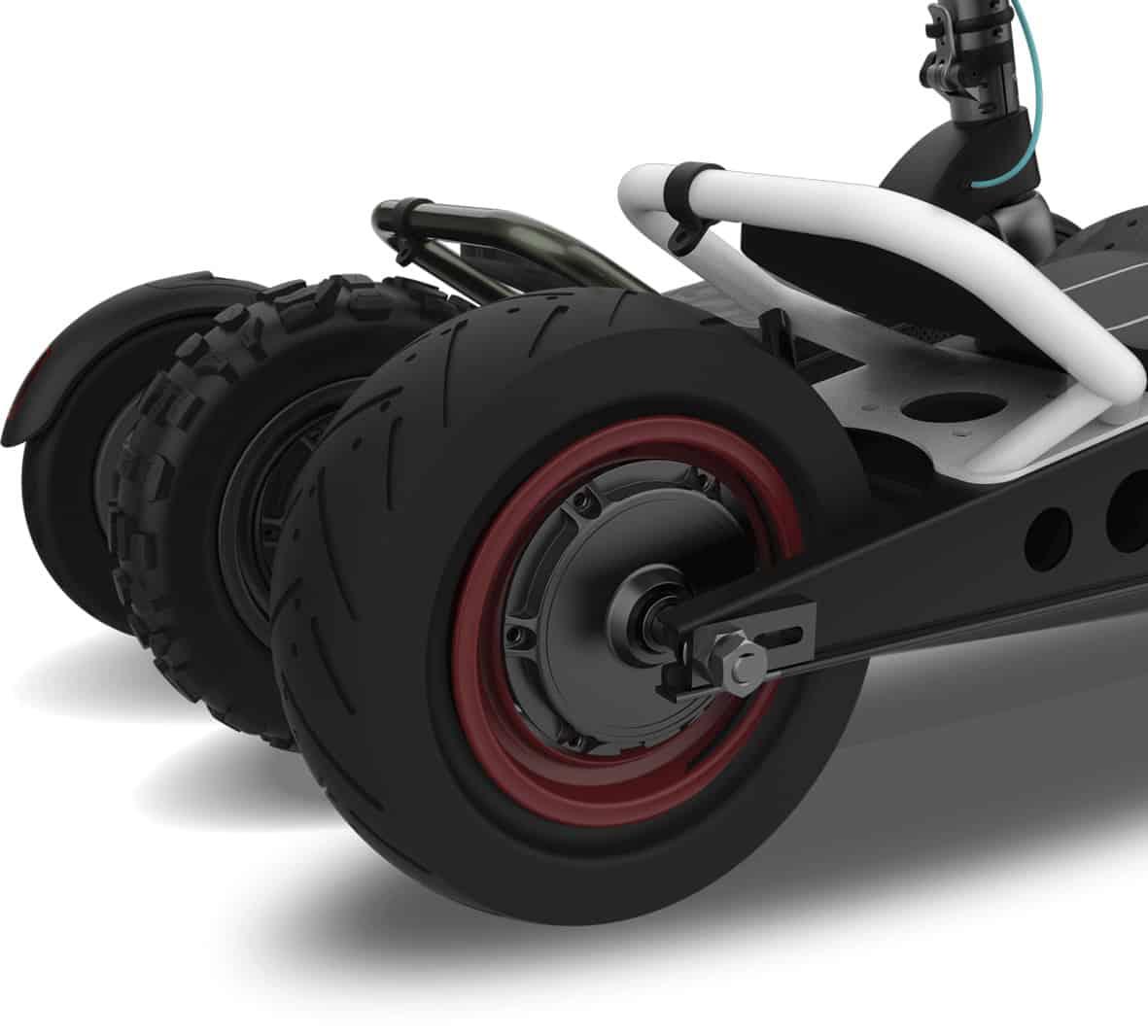 tipos de ruedas patinetes eléctricos