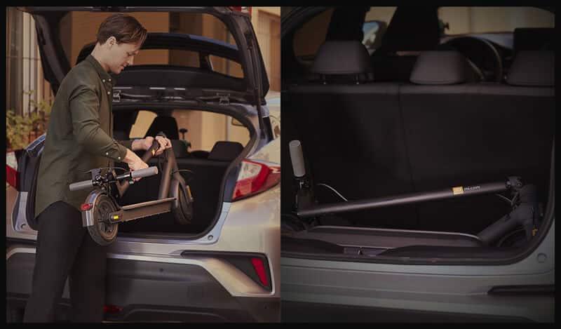 Xiaomi 1S maletero coche