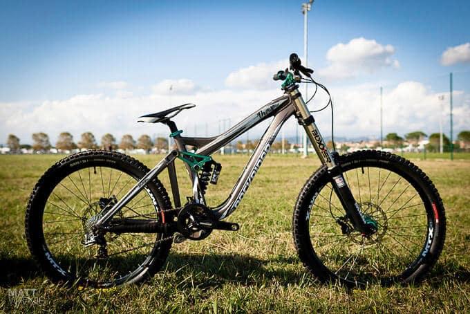 tipos de bicicleta de montaña