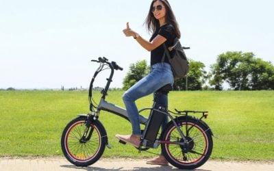 Mejor Bicicleta Eléctrica Plegable